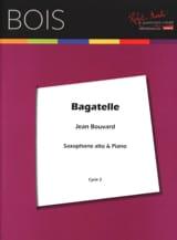 Bagatelle Jean Bouvard Partition Saxophone - laflutedepan.com
