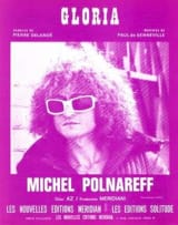Michel Polnareff - Gloria - Sheet Music - di-arezzo.com