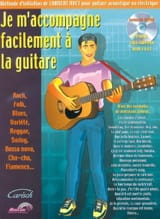 Je m'accompagne facilement à la guitare Laurent Huet laflutedepan.com