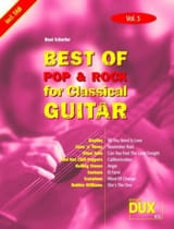 Best of pop & rock for classical guitar volume 3 laflutedepan.com