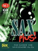 Sax plus! volume 2 Partition Saxophone - laflutedepan.com