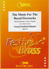 The Music For The Royal Fireworks HAENDEL Partition laflutedepan