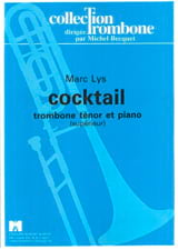 Marc Lys - Cocktail - Partition - di-arezzo.fr