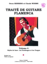 Herrero Oscar / Worms Claude - Flamenco Guitar Treatise Volume 4 - Sheet Music - di-arezzo.co.uk