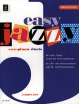 Easy Jazzy Saxophone Duets James Rae Partition laflutedepan.com