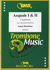 Aequale 1 & 2 - Anton Bruckner - Partition - laflutedepan.com