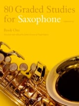 80 Graded Studies Volume 1 Partition Saxophone - laflutedepan.com