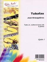 Tubafax Jean Brouquières Partition Tuba - laflutedepan.com