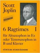 Scott Joplin - 6 Ragtimes Volume 1 - Partition - di-arezzo.fr