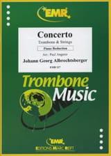 Johann Georg Albrechtsberger - Concerto - Sheet Music - di-arezzo.co.uk