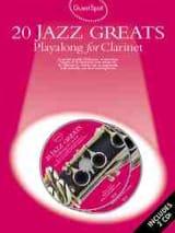 Guest Spot - 20 Jazz Greats Playalong For Clarinet laflutedepan.com