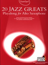 Guest Spot - 20 Jazz Greats Playalong For Saxophone Alto laflutedepan.com