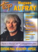 Hugues Aufray - Top Hugues Aufray - Partition - di-arezzo.fr