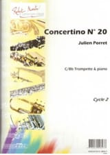 Julien Porret - Concertino N° 20 - Partition - di-arezzo.fr