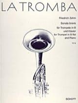Sonata Brevis Friedrich Zehm Partition Trompette - laflutedepan.com