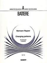 Hermann Regner - Changing Patterns - Partition - di-arezzo.fr