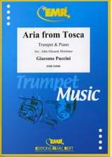 Aria From Tosca Giacomo Puccini Partition Trompette - laflutedepan.com