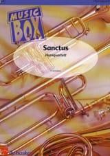 Sanctus - music box Franz Schubert Partition Cor - laflutedepan.com