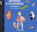 CD - Méthode d'Accordéon Manu Maugain Partition laflutedepan.com