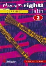 Erik Veldkamp - Play' Em Right ! Latin Volume 2 - Partition - di-arezzo.fr