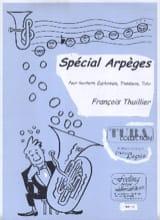 Spécial Arpèges François Thuillier Partition Tuba - laflutedepan.com