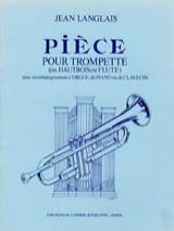 Jean Langlais - Pièces - Partition - di-arezzo.fr