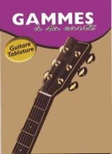 Gammes A la Carte Joe Bennett Partition Guitare - laflutedepan.com