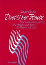 Edgar Cosma - Duetti Per Trombe - Partition - di-arezzo.fr