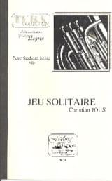 Jeu Solitaire Christian Jous Partition Tuba - laflutedepan.com