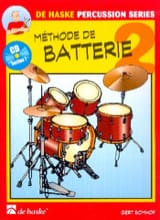 Méthode de Batterie Volume 2 Gert Bomhof Partition laflutedepan.com