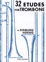 Sigmund Hering - 32 Etudes For Trombone - Partition - di-arezzo.fr