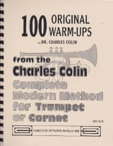 Charles Colin - 100 Original Warm Ups - Sheet Music - di-arezzo.com