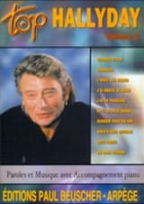 Johnny Hallyday - Top Hallyday Volumen 2 - Partitura - di-arezzo.es