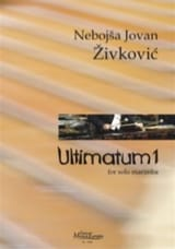 Nebojsa jovan Zivkovic - Ultimatum 1 - Sheet Music - di-arezzo.co.uk