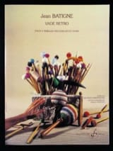 Jean Batigne - Vade Retro - Partition - di-arezzo.fr