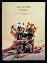 Jean Batigne - Romantica - Partition - di-arezzo.fr