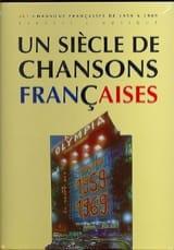- Un siècle de chansons Françaises 1959-1969 - Partition - di-arezzo.fr