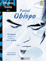 Pascal Obispo - Piano Solo N ° 2 - 10 pieces specially adapted for piano - Sheet Music - di-arezzo.com