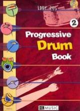 Progressive Drum Book 2 Eddy Ros Partition Batterie - laflutedepan.com