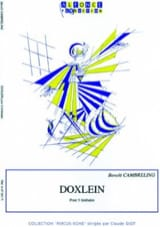 Benoît Cambreling - Doxlein - Sheet Music - di-arezzo.co.uk
