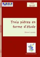 Trois Pièces En Forme D' Etude Gérard Lecointe laflutedepan.com