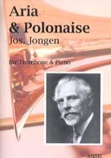 Aria et polonaise Joseph Jongen Partition Trombone - laflutedepan.com