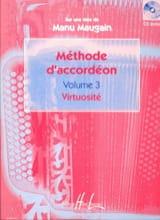 Manu Maugain - Méthode d'accordéon volume 3 - Virtuosité - Partition - di-arezzo.fr
