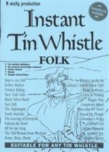 Instant Tin Whistle Folk Partition laflutedepan.com