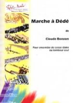 Claude Bonzon - Marche A Dédé - Partition - di-arezzo.fr