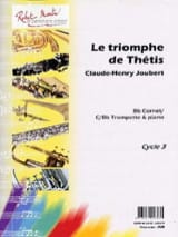 Claude-Henry Joubert - The triumph of Thetis - Sheet Music - di-arezzo.com