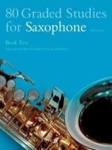 80 Graded Studies Volume 2 Partition Saxophone - laflutedepan.com
