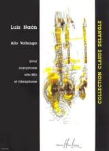 Alto Voltango Luis Naon Partition Saxophone - laflutedepan.com
