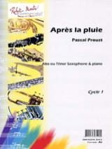 Pascal Proust - After the rain - Sheet Music - di-arezzo.co.uk