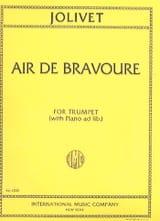 André Jolivet - Air of Bravery - Sheet Music - di-arezzo.com